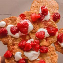 Egészséges Amerikai Palacsinta cukor – glutén – laktóz mentes
