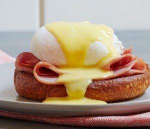 Benedict tojás hollandiai mártással